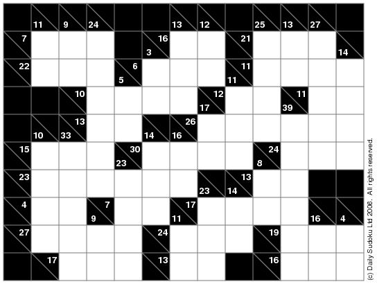 photograph about Kakuro Printable named Index of /sudoku/illustrations